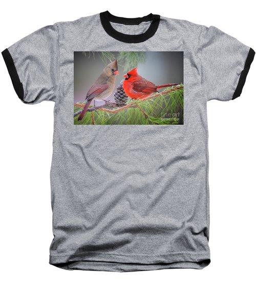 Cardinals In Pine Baseball T-Shirt
