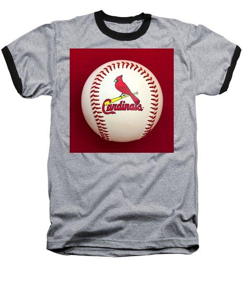 Cardinals Baseball T-Shirt by Steve Stuller