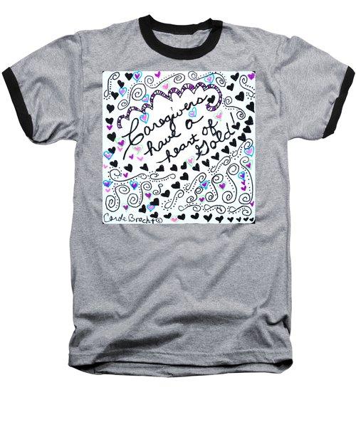 Caregiver Hearts Baseball T-Shirt