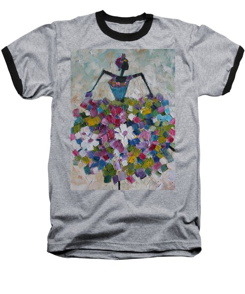 Caribbean Dancer Baseball T-Shirt