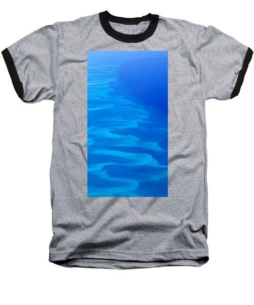 Caribbean Ocean Mosaic  Baseball T-Shirt