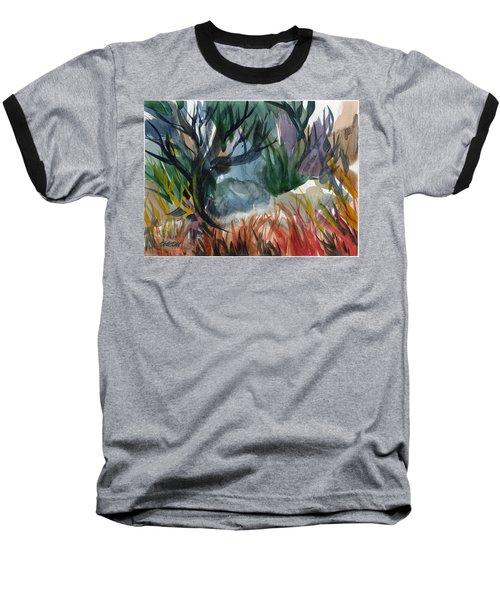 Caribbean Stroll Baseball T-Shirt