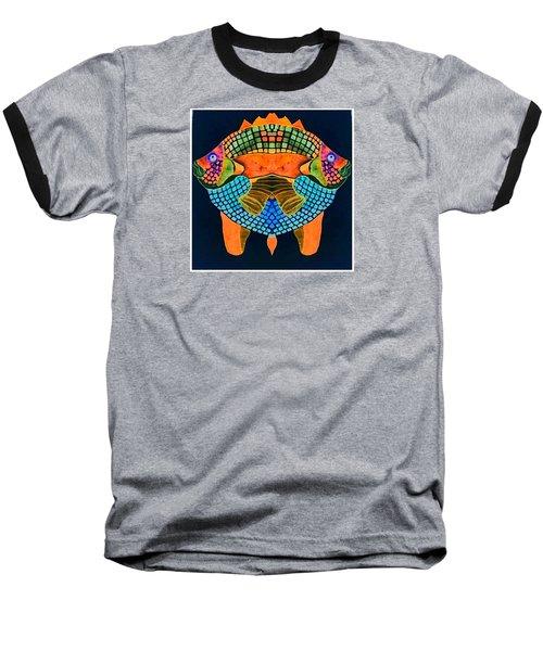 Caribean Fish Baseball T-Shirt by Sandra Lira