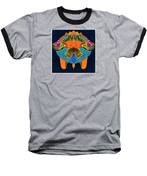 Caribean Fish Baseball T-Shirt
