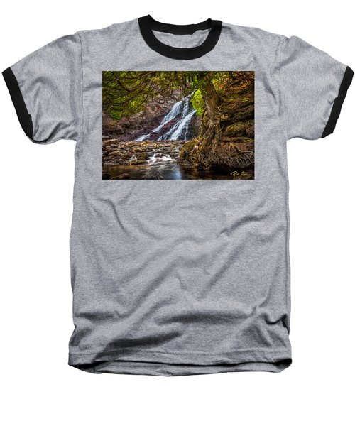 Caribou Falls In Fall Baseball T-Shirt