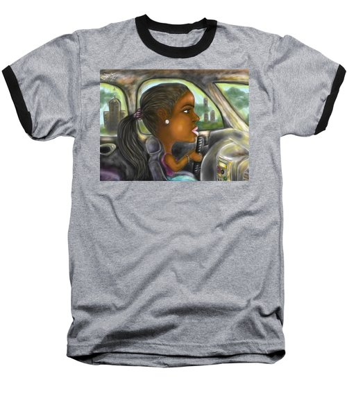 Caricature Ride With Jay Baseball T-Shirt