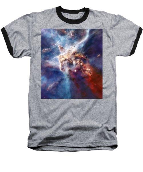 Carina Nebula Pillar Baseball T-Shirt