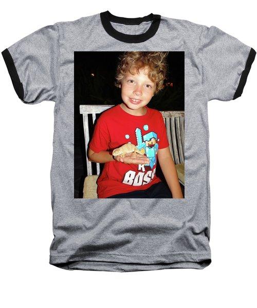 Caring For Chameleons 1 Baseball T-Shirt