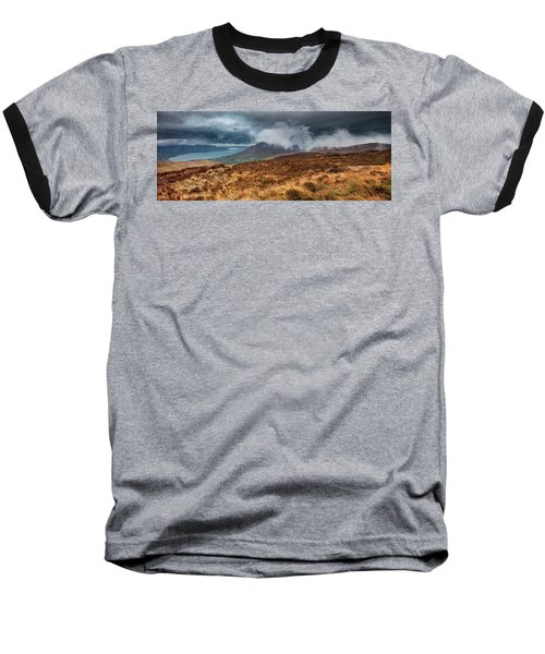 Carlingford Lough Baseball T-Shirt by Marty Garland