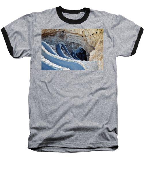 Carlsbad Caverns Natural Entrance Baseball T-Shirt