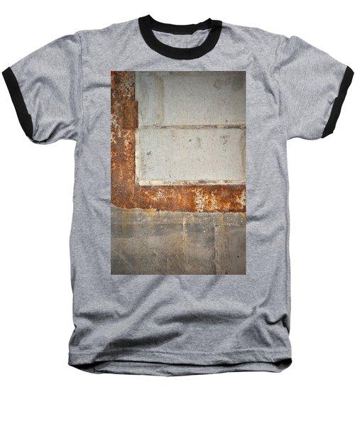 Carlton 14 - Abstract Concrete Wall Baseball T-Shirt
