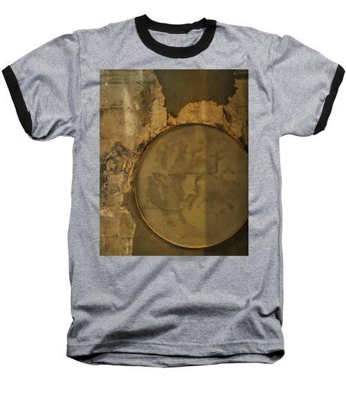 Carlton 3 - Abstract Concrete Baseball T-Shirt