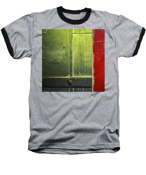 Carlton 6 - Firedoor Abstract Baseball T-Shirt