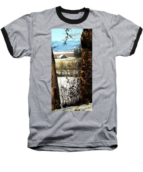 Carlton Barn Baseball T-Shirt by Jerry Sodorff