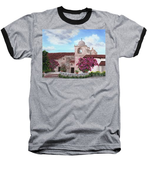 Carmel Mission In Spring Baseball T-Shirt