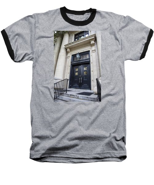 Carnegie Building Penn State  Baseball T-Shirt by John McGraw