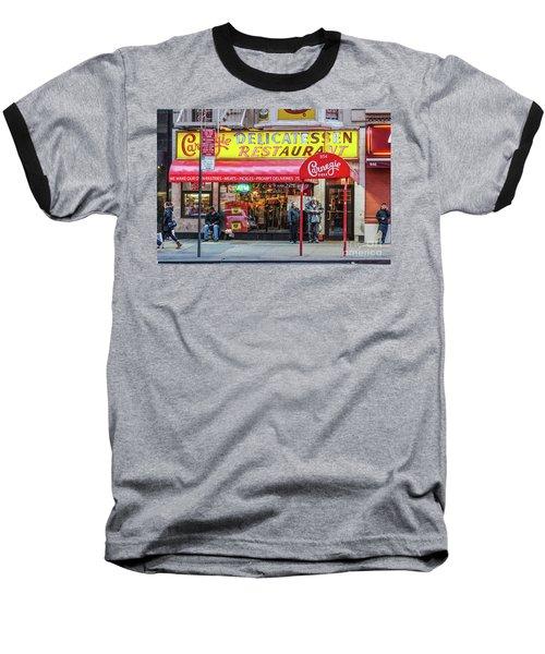 Carnegie Deli Baseball T-Shirt