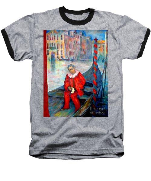 Carnaval In Venice Baseball T-Shirt