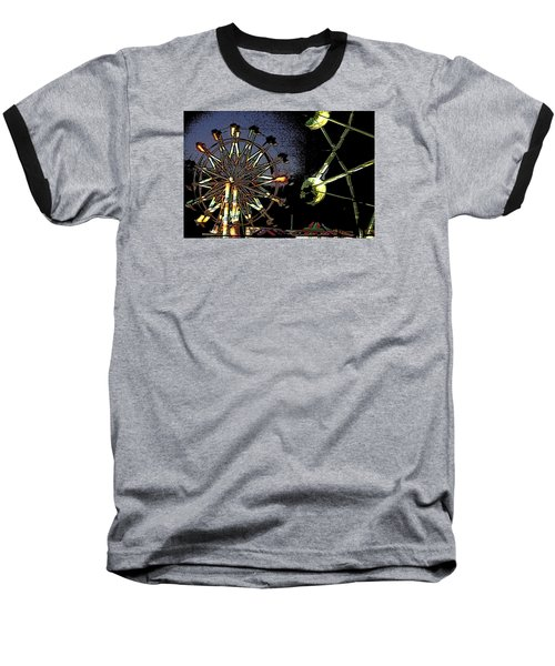 Baseball T-Shirt featuring the photograph Carnival by Donna G  Smith