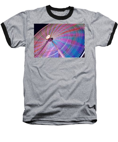 Carnival Spectacle Baseball T-Shirt