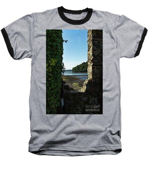 Photographs Of Cornwall Carnon Mine Window Baseball T-Shirt