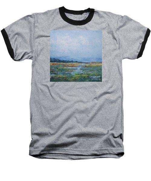 Carolina Country Blues Baseball T-Shirt