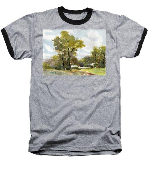 Carolina Farm Field Baseball T-Shirt