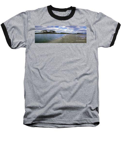 Carolina Inlet At Low Tide Baseball T-Shirt