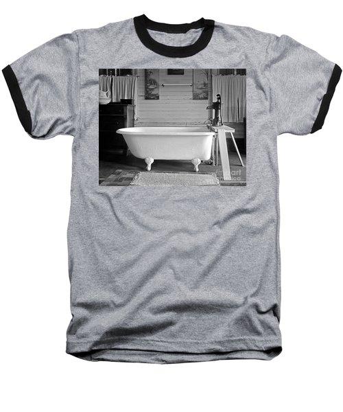 Caroline's Key West Bath Baseball T-Shirt by John Stephens