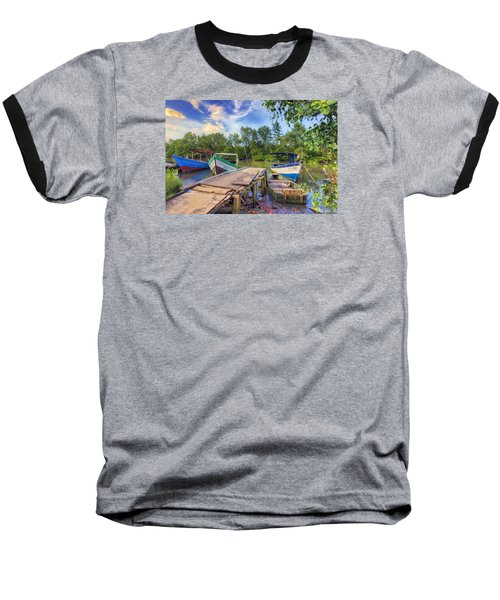 Caroni Swamp Baseball T-Shirt