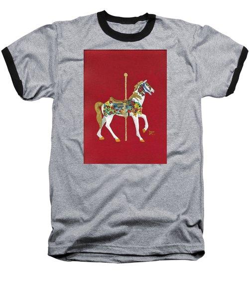 Carousel Horse #2 Baseball T-Shirt