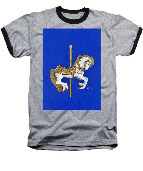 Carousel Horse #3 Baseball T-Shirt
