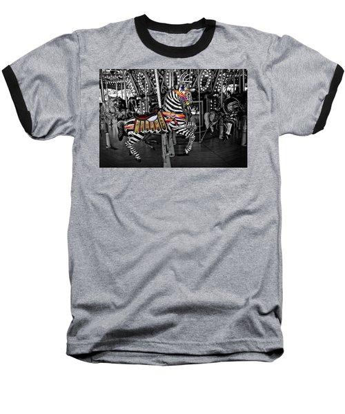 Carousel Zebra Series 2222 Baseball T-Shirt