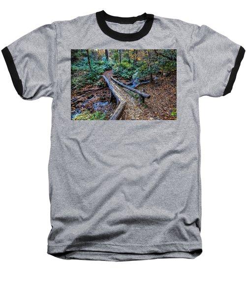 Carpet Of Leaves Baseball T-Shirt by Dale R Carlson