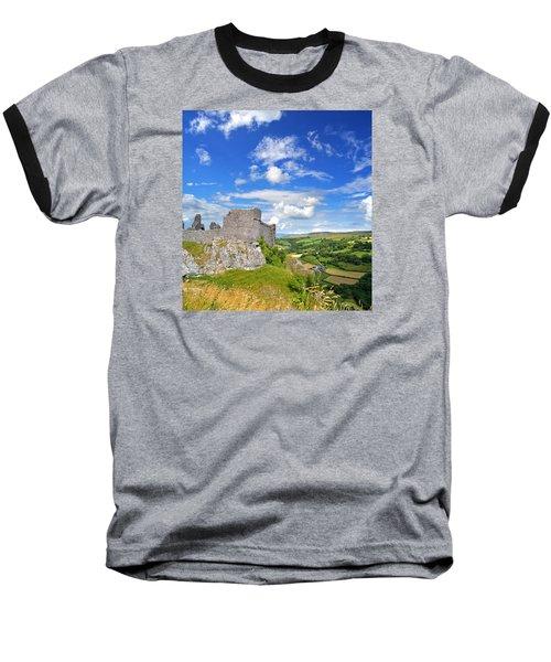 Carreg Cennen Castle 1 Baseball T-Shirt