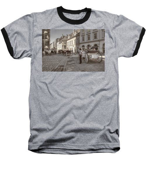 Carriages Back To Stephanplatz Baseball T-Shirt