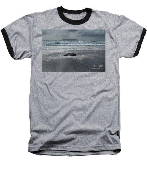 Carrowniskey Beach Baseball T-Shirt