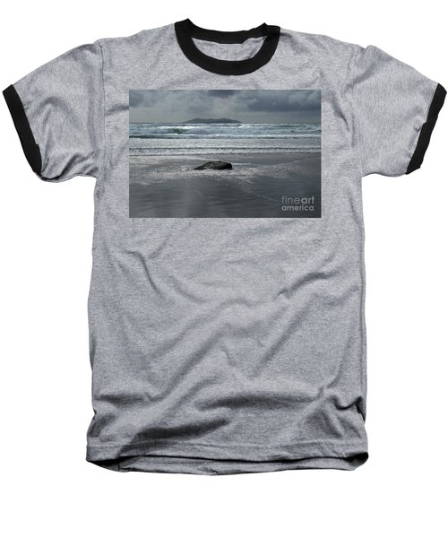 Carrowniskey Beach Baseball T-Shirt