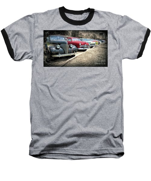 Cars For Sale Baseball T-Shirt by Marion Johnson