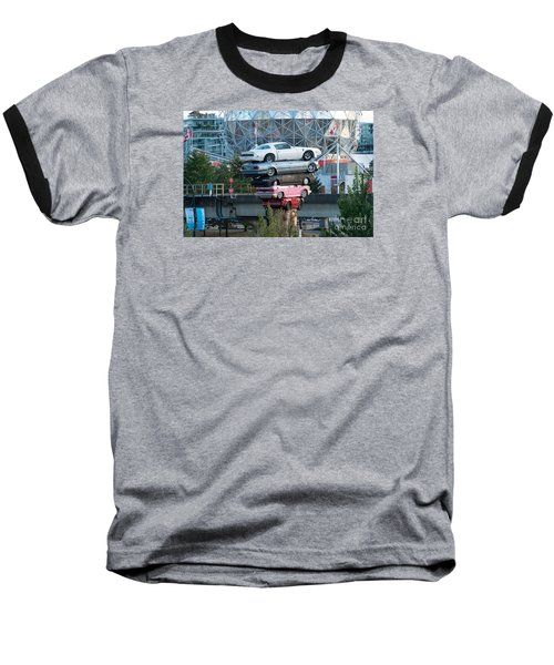 Cars In The Air Baseball T-Shirt
