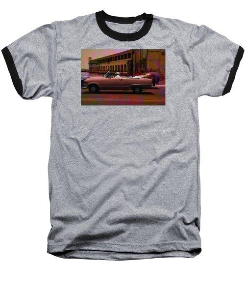 Cars Of Cuba Baseball T-Shirt by Will Burlingham