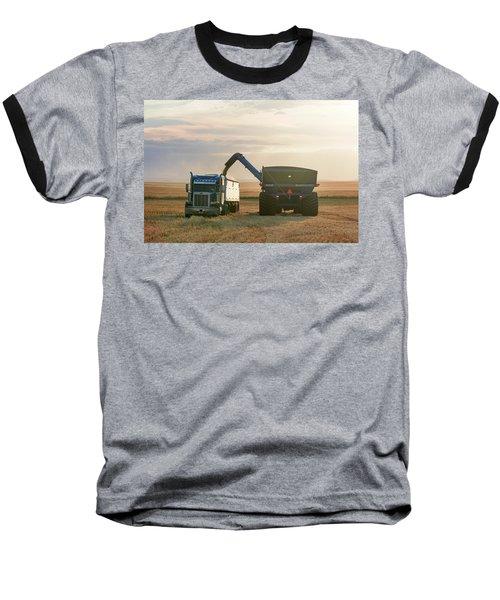 Cart Into Truck Baseball T-Shirt