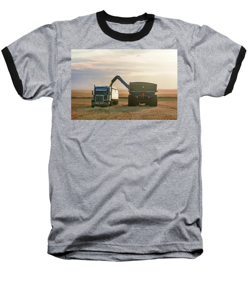 Cart Into Truck Baseball T-Shirt