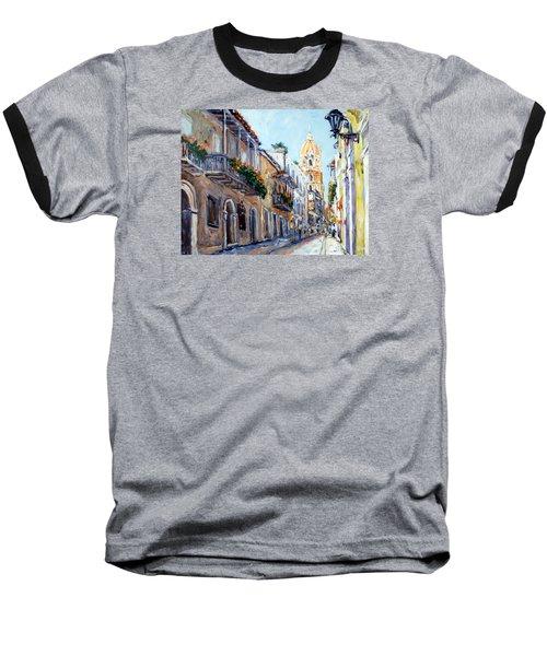 Cartagena Colombia Baseball T-Shirt by Alexandra Maria Ethlyn Cheshire