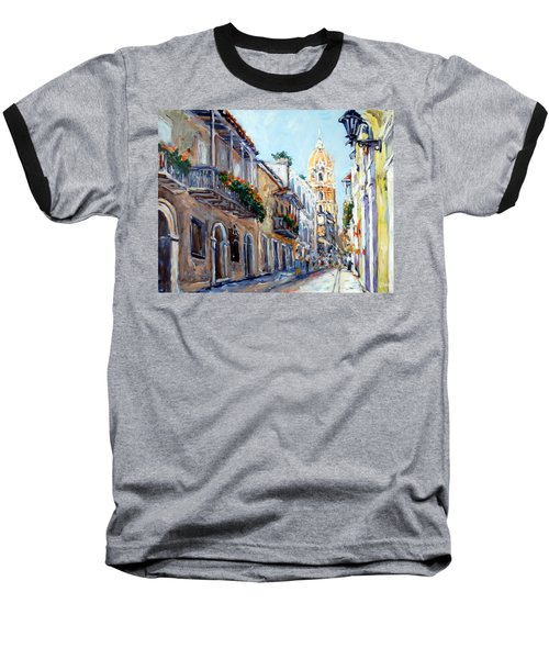 Cartagena Colombia Baseball T-Shirt