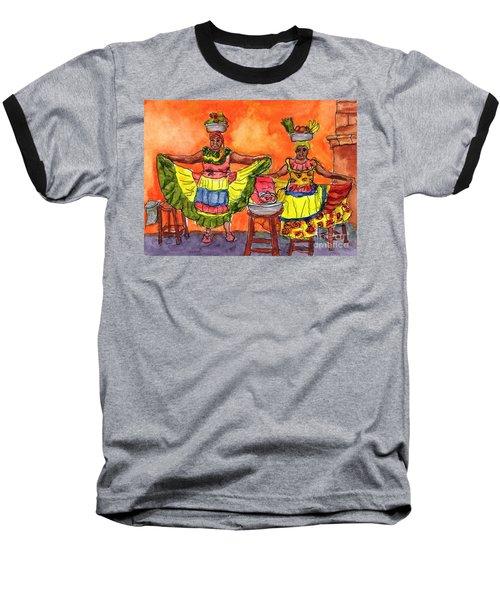 Cartagena Fruit Venders Baseball T-Shirt
