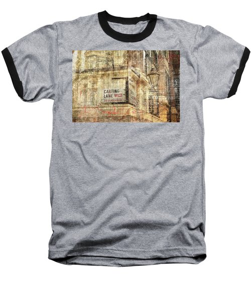 Carting Lane, Savoy Place Baseball T-Shirt by Nicky Jameson