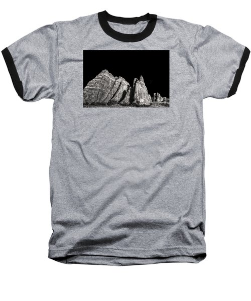 Baseball T-Shirt featuring the digital art Carved By The Hands Of Ancient Gods by William Fields
