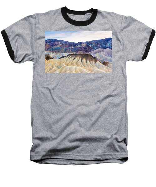 Carved By Time Baseball T-Shirt
