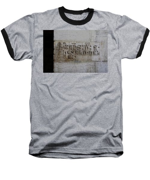 Carved In Stone Baseball T-Shirt